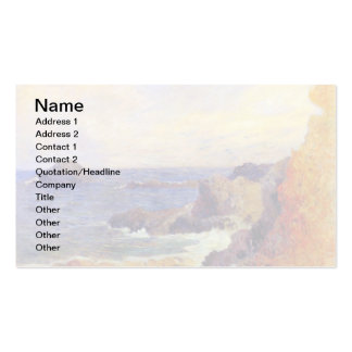 Paul Gauguin - Rocky Coast Pack Of Standard Business Cards