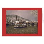 """Paul McGehee """"Winter in Heidelberg"""" Card (German)"""