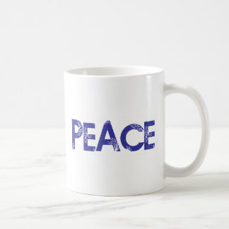 Peace And Trees Basic White Mug