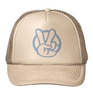 Peace_cap_ltblue Cap