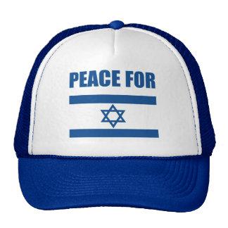 Peace for Israel Cap