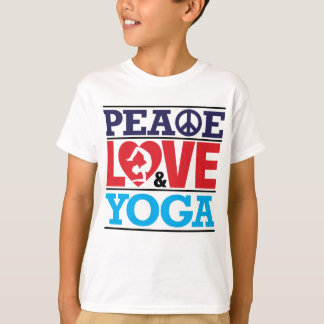 Peace, Love and Yoga Shirt