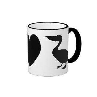 Peace, Love & Pelicans Mug