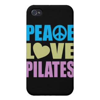 Peace Love Pilates Case For iPhone 4