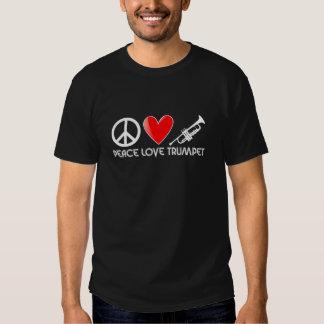 Peace, Love, Trumpet Shirts