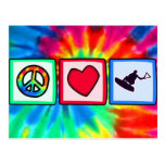 Peace, Love, Wakeboarding Postcard