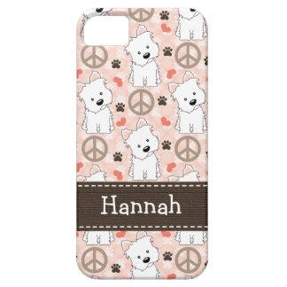 Peace Love Westies iPhone 5 Cases