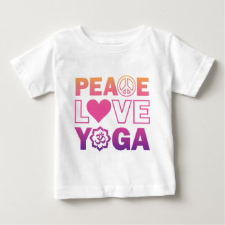 Peace Love Yoga Infant T-Shirt