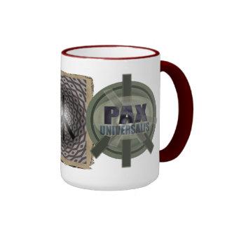 peace modern 001 ringer mug
