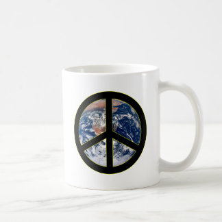 Peace On Earth Basic White Mug
