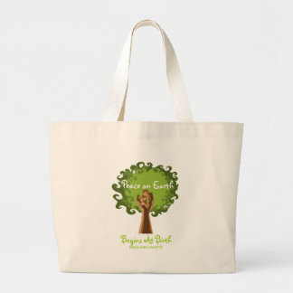 Peace on Earth... midwife Jumbo Tote Bag