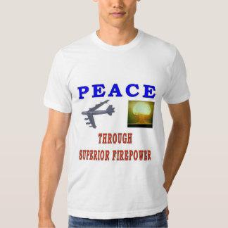 PEACE THROUGH SHIRTS