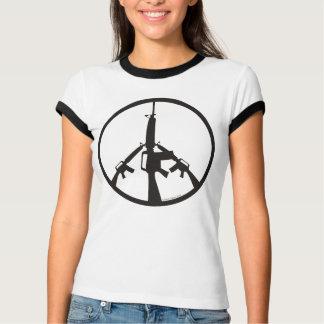 Peace Through Superior Firepower - Women T-shirts