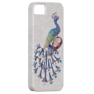 Peacock Jewel Image Paisley Lace Photo Barely There iPhone 5 Case