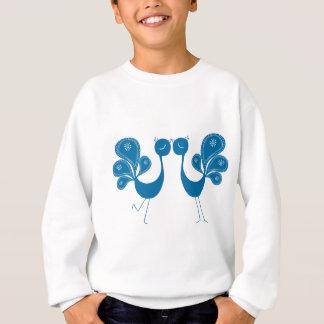 Peacock Love Aqua T Shirts