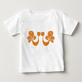 Peacock Love Marigold Infant T-Shirt