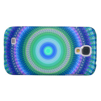 Peacock Spiral Samsung Galaxy S4 Phone Case