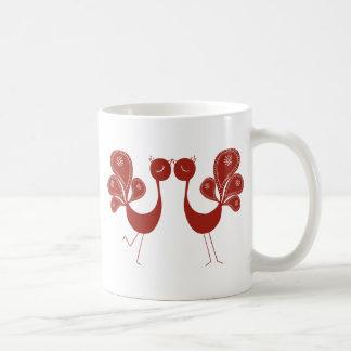 Peakcock Love Basic White Mug