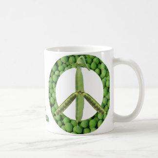 Peas on Earth mug