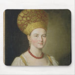 Peasant Woman in Russian Costume, 1784 Mouse Pad