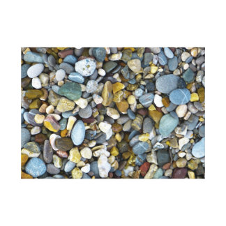 pebble nature beach canvas prints