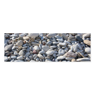 Pebbles on the Beach  Bookmark/Business Card Pack Of Skinny Business Cards