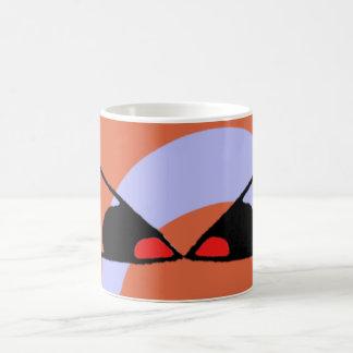 Peepers Basic White Mug