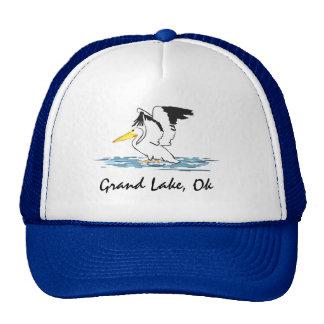 Pelican on Grand Lake hat