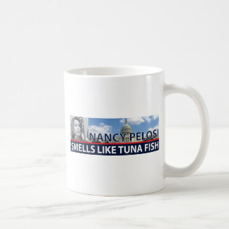 PELOSI zz.png Basic White Mug