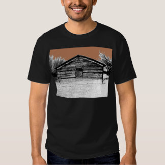 Pen and Ink Abandoned Stable Shirt