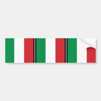 Pennant Of Italy, Italy flag Bumper Sticker