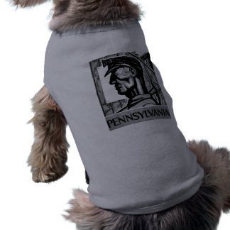 Pennsylvania Coal Poster WPA 1938 Sleeveless Dog Shirt
