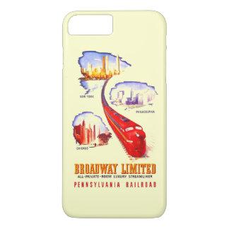 Pennsylvania Railroad Broadway Limited Streamliner iPhone 7 Plus Case