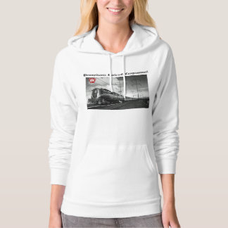 Pennsylvania Railroad Congressional Hooded Pullovers