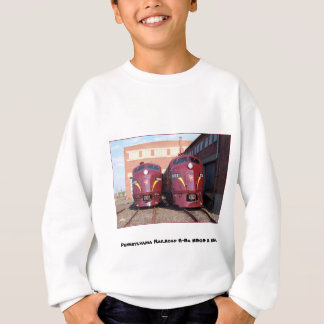 Pennsylvania Railroad E-8a,s 5809 and 5811 T-shirt