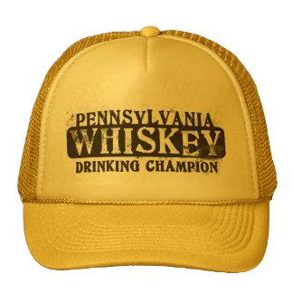 Pennsylvania Whiskey Drinking Champion Cap