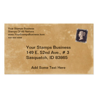 Penny Black Stamp Dealer Pack Of Standard Business Cards