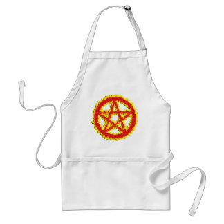 Pentacle of Fire Standard Apron