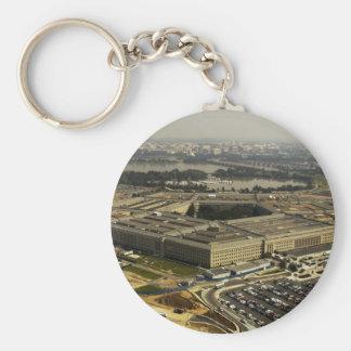 Pentagon Basic Round Button Key Ring