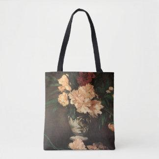 Peonies Edouard Manet Fine Art Tote Bag