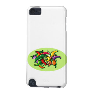Pepper Pile Graphic Colorful design iPod Touch 5G Cover