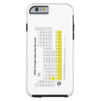 Periodic Table of the elements iPhone 6 case