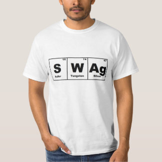 Periodic Table Swag Tee Shirt