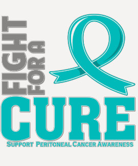 Peritoneal Cancer Fight For A Cure Tee Shirt