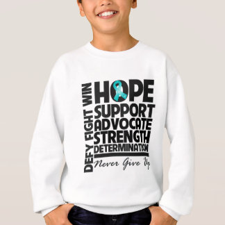 Peritoneal Cancer Hope Support Advocate Tee Shirts