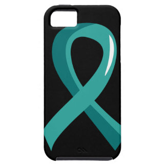Peritoneal Cancer Teal Ribbon 3 Case For The iPhone 5
