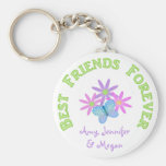 Personalised Best Friend Forever Keychain