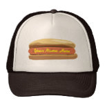 Personalised Hot Dog Hat