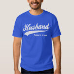 Personalised Husband Since Tee Shirt