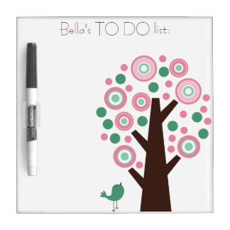 Personalised White/Dry Ease Board - To do list. Dry Erase Whiteboards